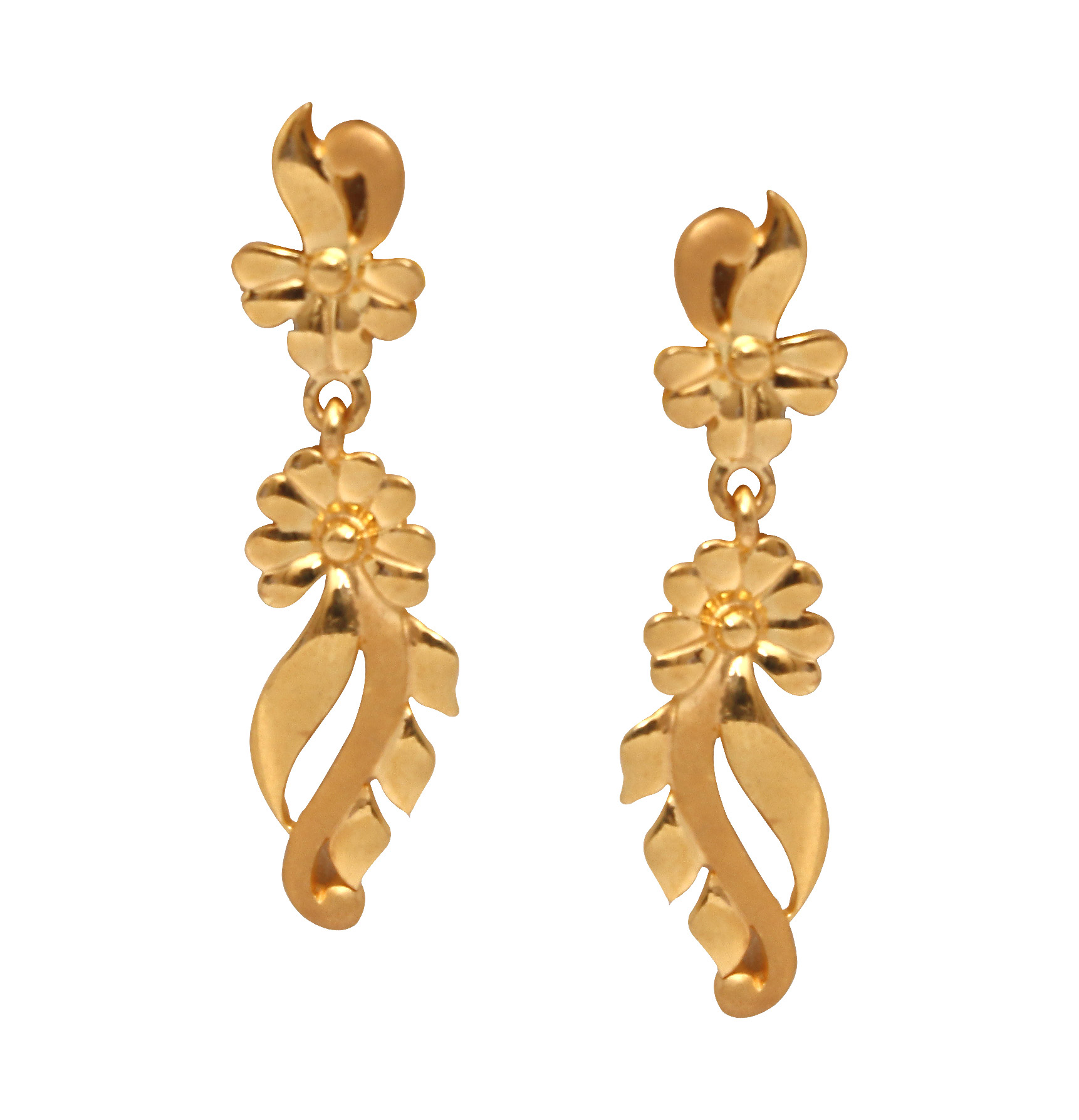 The Keira Stylus Gold Earrings