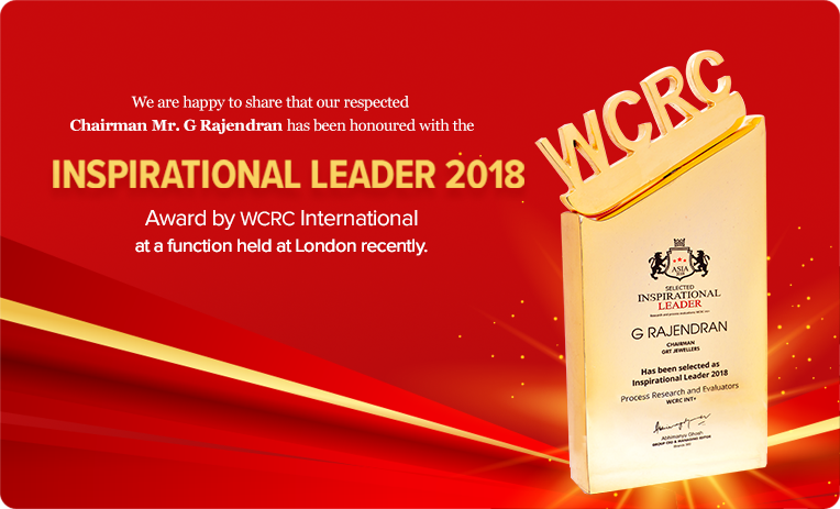 Inspirational Leader 2018 - WCRC