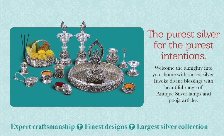 Silver Articles at GRT Jewellers