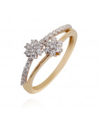 The Floral Classic Diamond ring