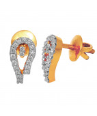 The Classy Royalty Diamond Earrings