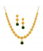 Indian Traditional Handmade Gold Balls Necklace