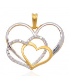 The Heart Of Heart Gold Pendants