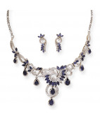 Montana Stone Dazzling Designer Necklace Set
