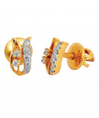 Glamorous And Dazzling Diamond Earrings