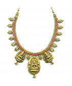 Beautifully Handrafted Mahalakshmi Necklace