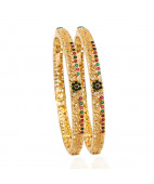 Fancy Enameled Officewear Bangles