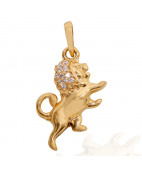 The Little Lion Gold Pendant