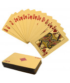 24KT Gold Finish Playing Cards
