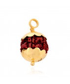 5 Face Rudracha Gold Pendant