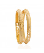 Officewear Designer Gold Bangles