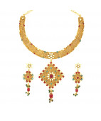 Indian Filigree work Vintage Neacklace Set
