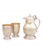 Matt Finish Silver Jug Set