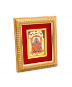 Beautiful Framed 24 kt Balaji