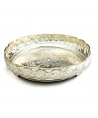 Nagas work Silver Fruits Plate