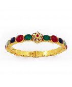Original Navratna Stone studded Bangle