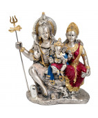 Mahadev And Parvati Idol