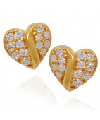 Gorgeous Heart Earrings