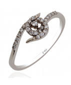 Trinity Platinum Ring For Her