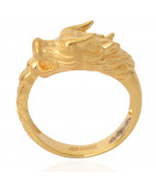 22KT Dragon Gold Ring