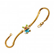 Special Kids Collection Mickey Mouse Gold Bracelet