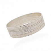 925 Sterling Silver Stackable Bangle Bracelet