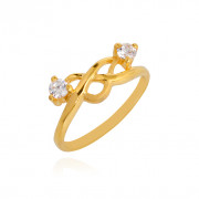 Infinity Knot Gold Ring