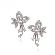 The Enchanted Love Silver Earrings
