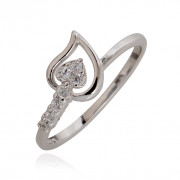 Lovestruck Silver Ring