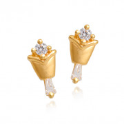 The Angelyn Gold Earrings