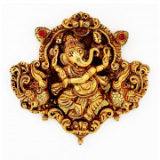 Traditional Nagas Work Dancing Ganesh  Pendant