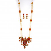 Traditional Three strand Pearl Malai