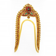 Antique Kempu Bridal Vanki - Armlet