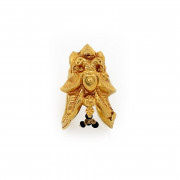 South Indian Traditional Nagas Work Annapakshi Ring