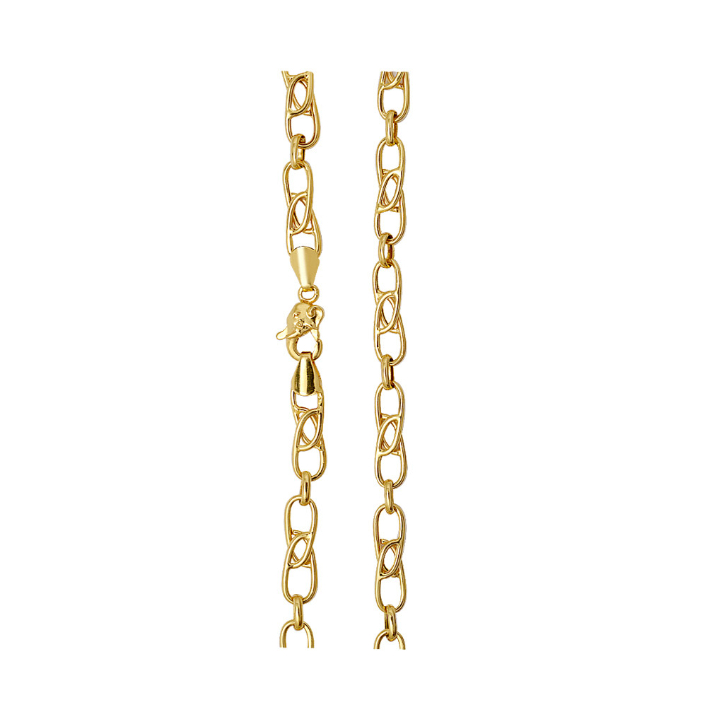 22kt Mens Indo Italian Gold Chain