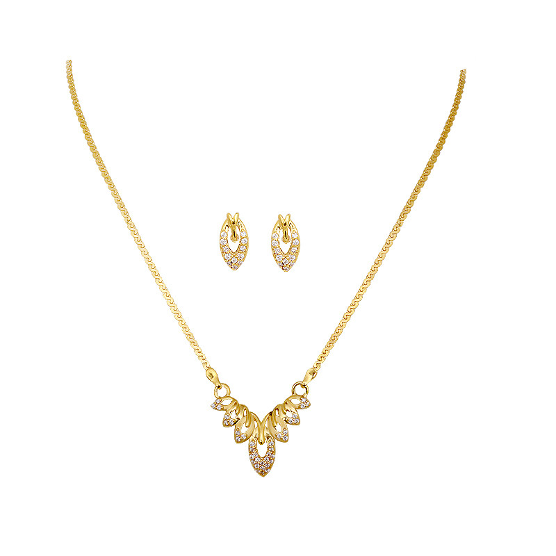 Golden Mayur 22KT Necklace
