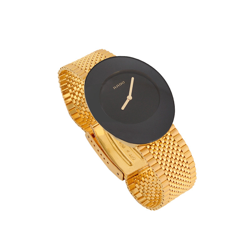 Rado with Scratchproof Gold Strap