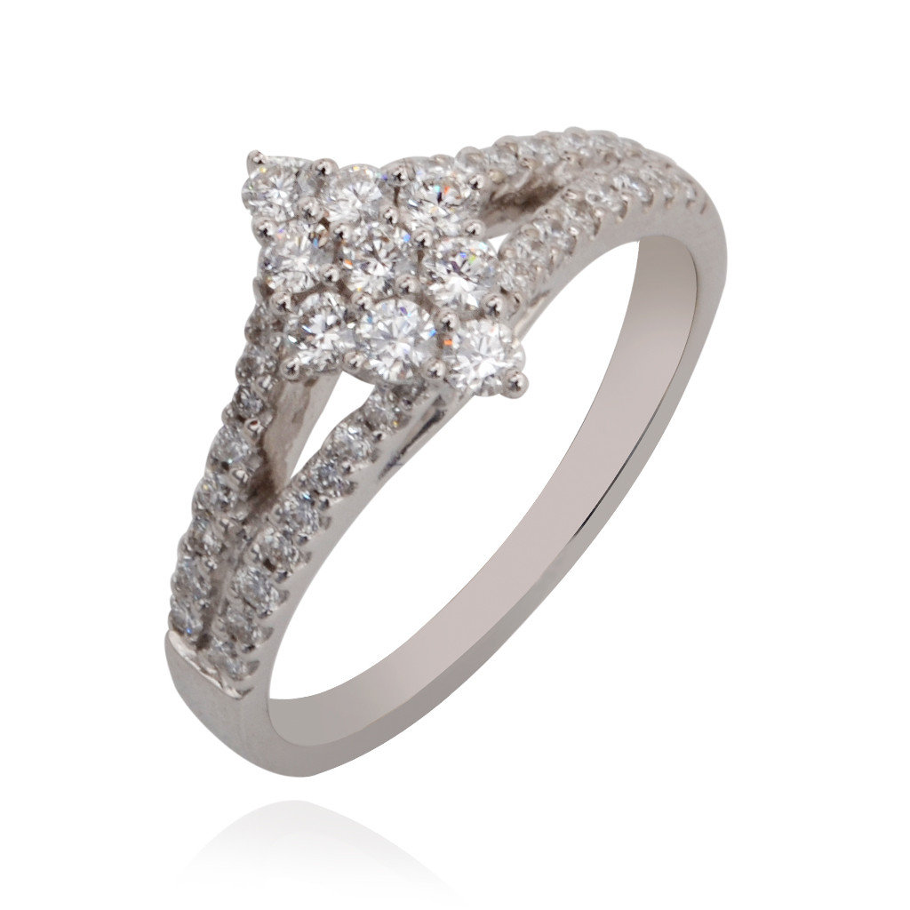Trendy Diamond Stones Ring
