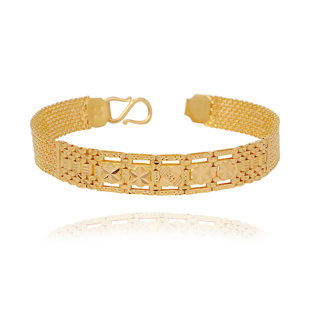 Men's Bracelet 22Kt Gold
