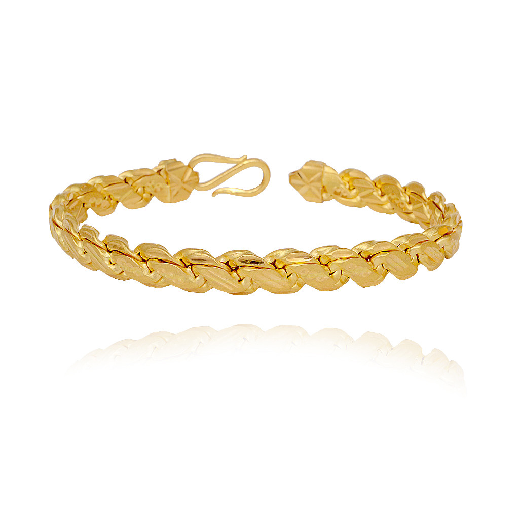 Awesome Gold Mens Bracelet