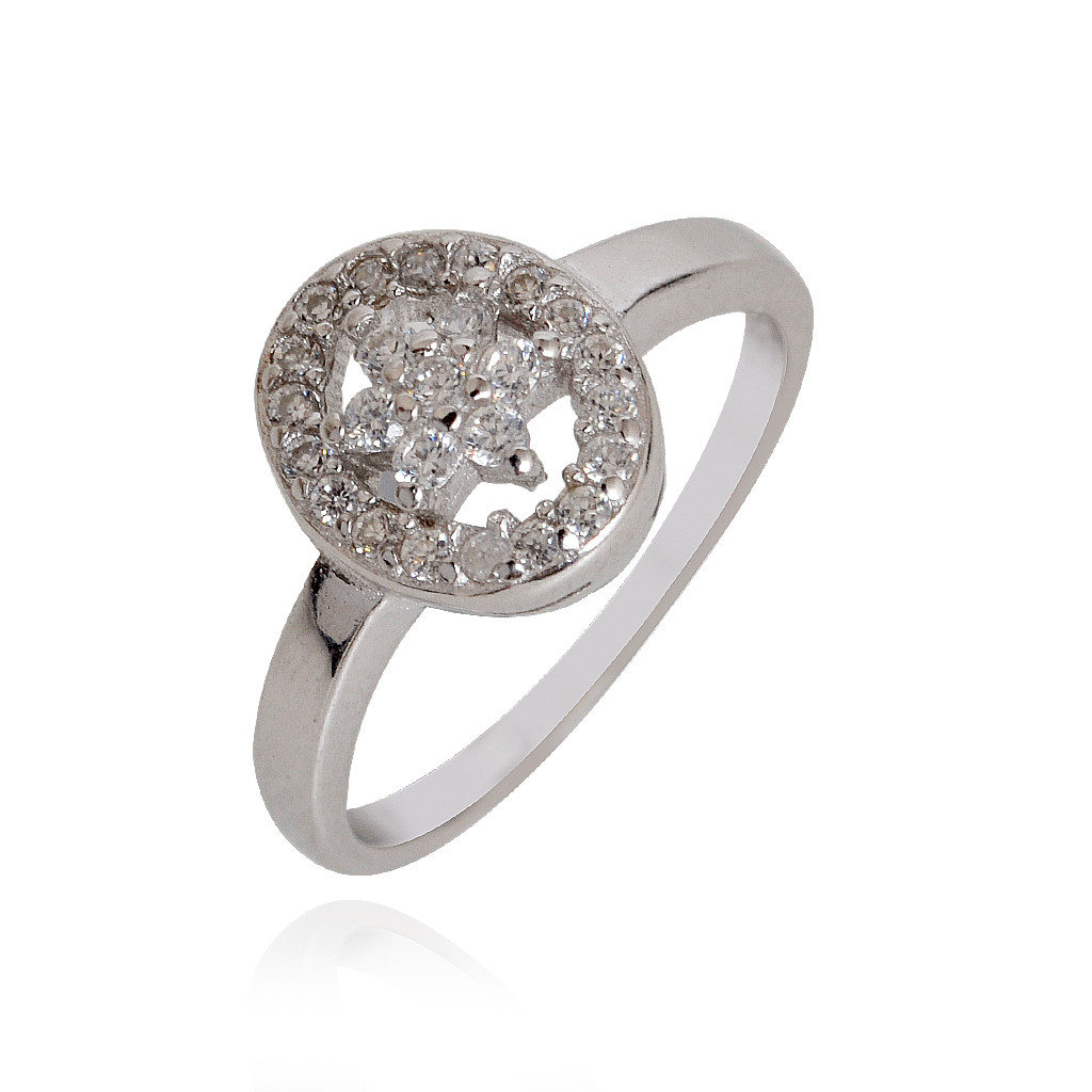 Silver Citric Sparkle Ring