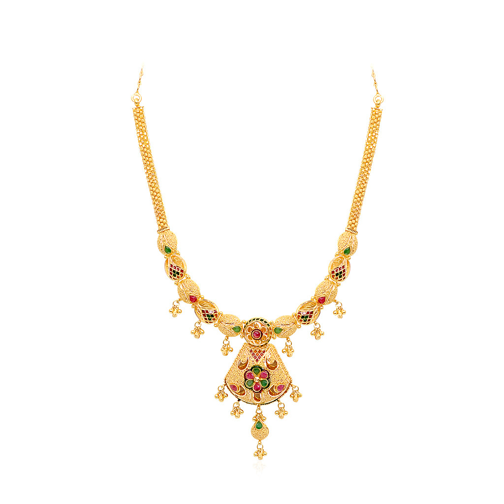 Gold Necklace Designs In 15 Grams With Price Cool