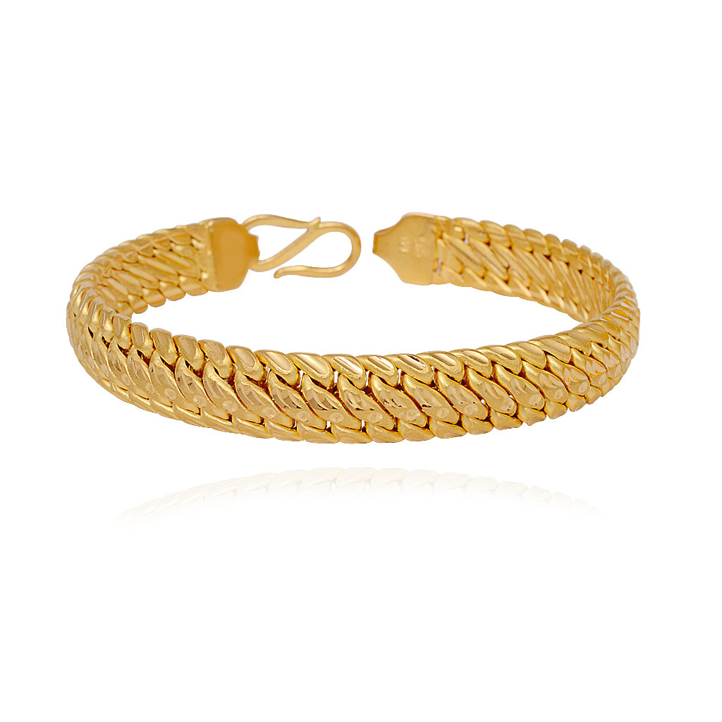 Mens accessories | 22Kt Gold Men's Bracelet | GRT Jewellers