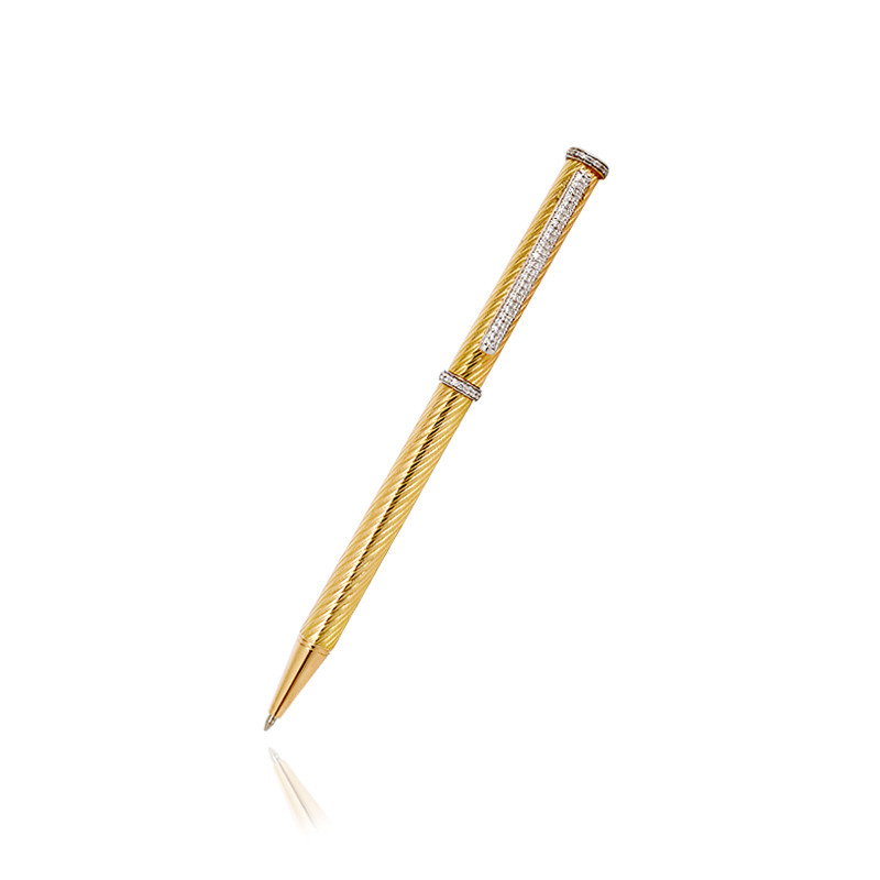 18 Karat Gold Plated Ballpoint Pen