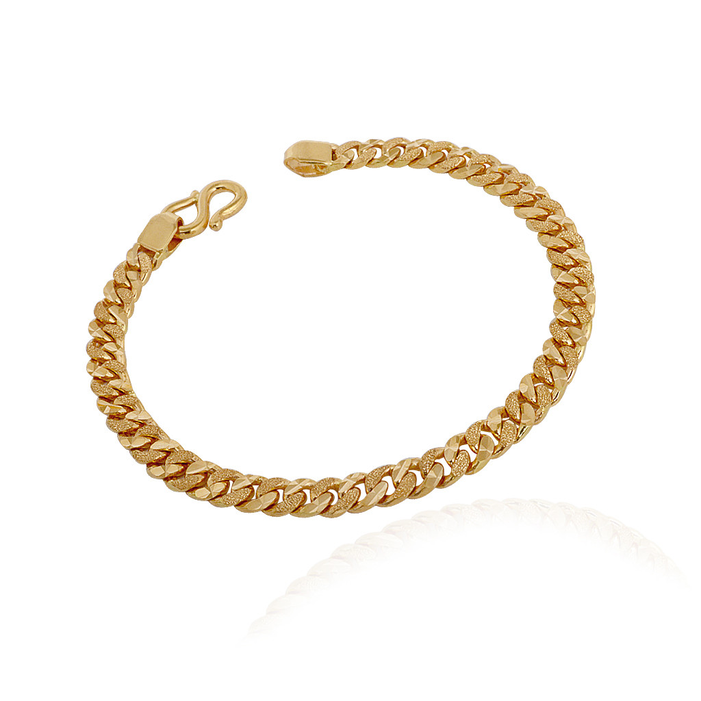 Gold Chain Men's Bracelet