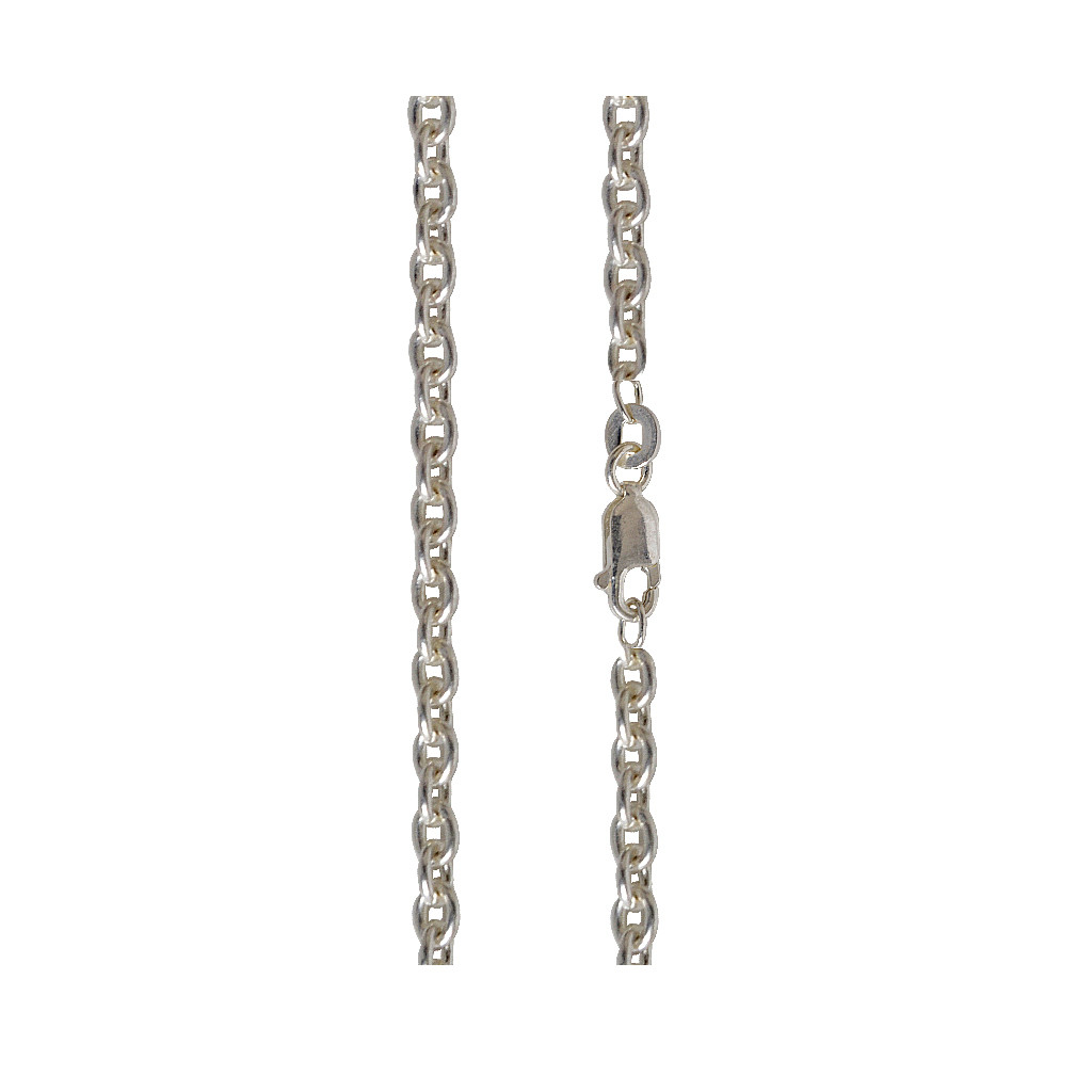 Silver Cable Link Chain