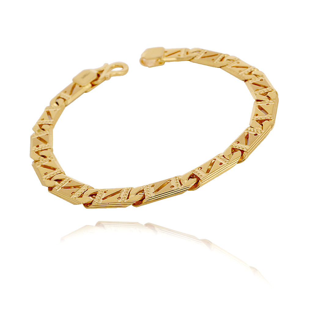22Kt Yellow Gold Men's Bracelet
