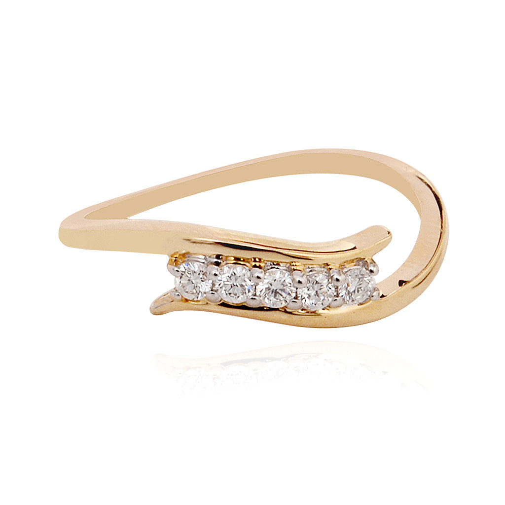 Cluster Top Diamond Ring