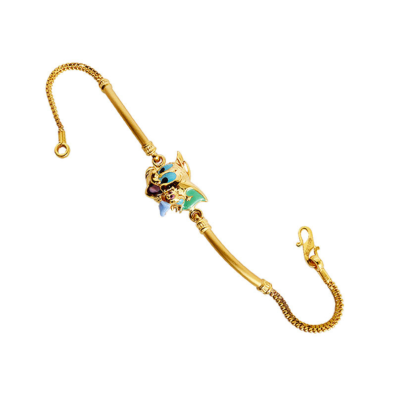 Special Kids Collection Tom and Jerry Gold Bracelet