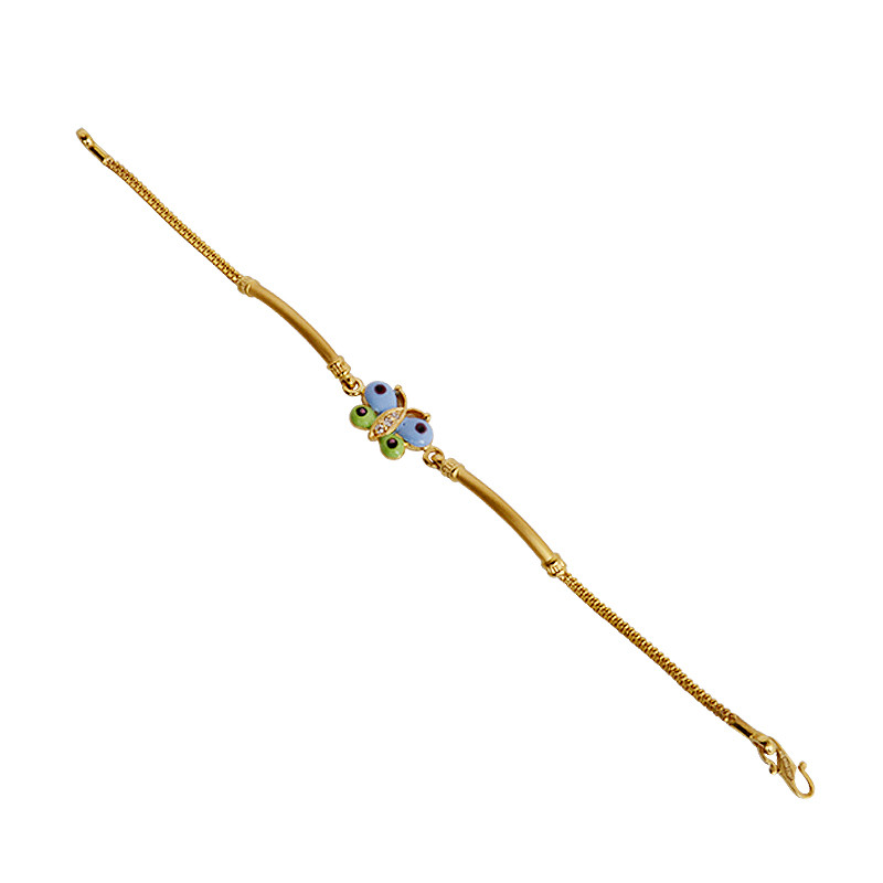 Special Kids Collection Butterfly Gold Bracelet
